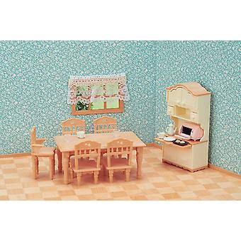 Sylvanian Families - Dining Room Set Toy