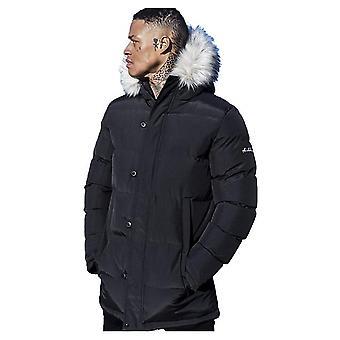 4BIDDEN Vault Black Quilted Jacket