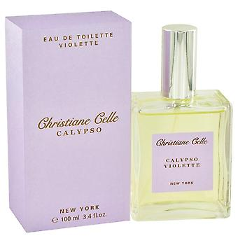Calypso violette eau de toilette spray by calypso christiane celle 434506 100 ml