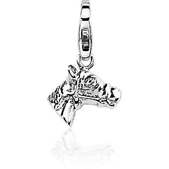 Charm stone Lawson JC99A215 - Charm pendant Silver Horse woman