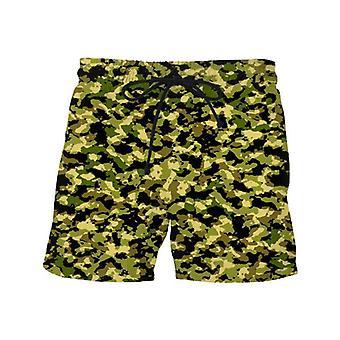 Kamouflage simma shorts