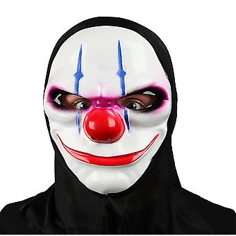 Wicked Costumes Freaky Clown Mask With Hood