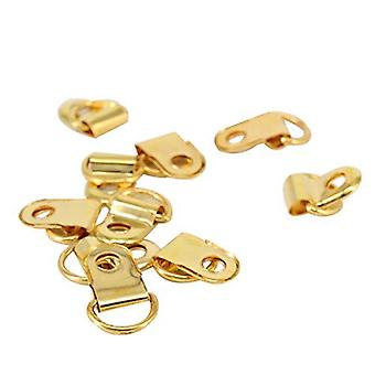 10mm Metal D Ring Single Hole Picture Hangers Style 2