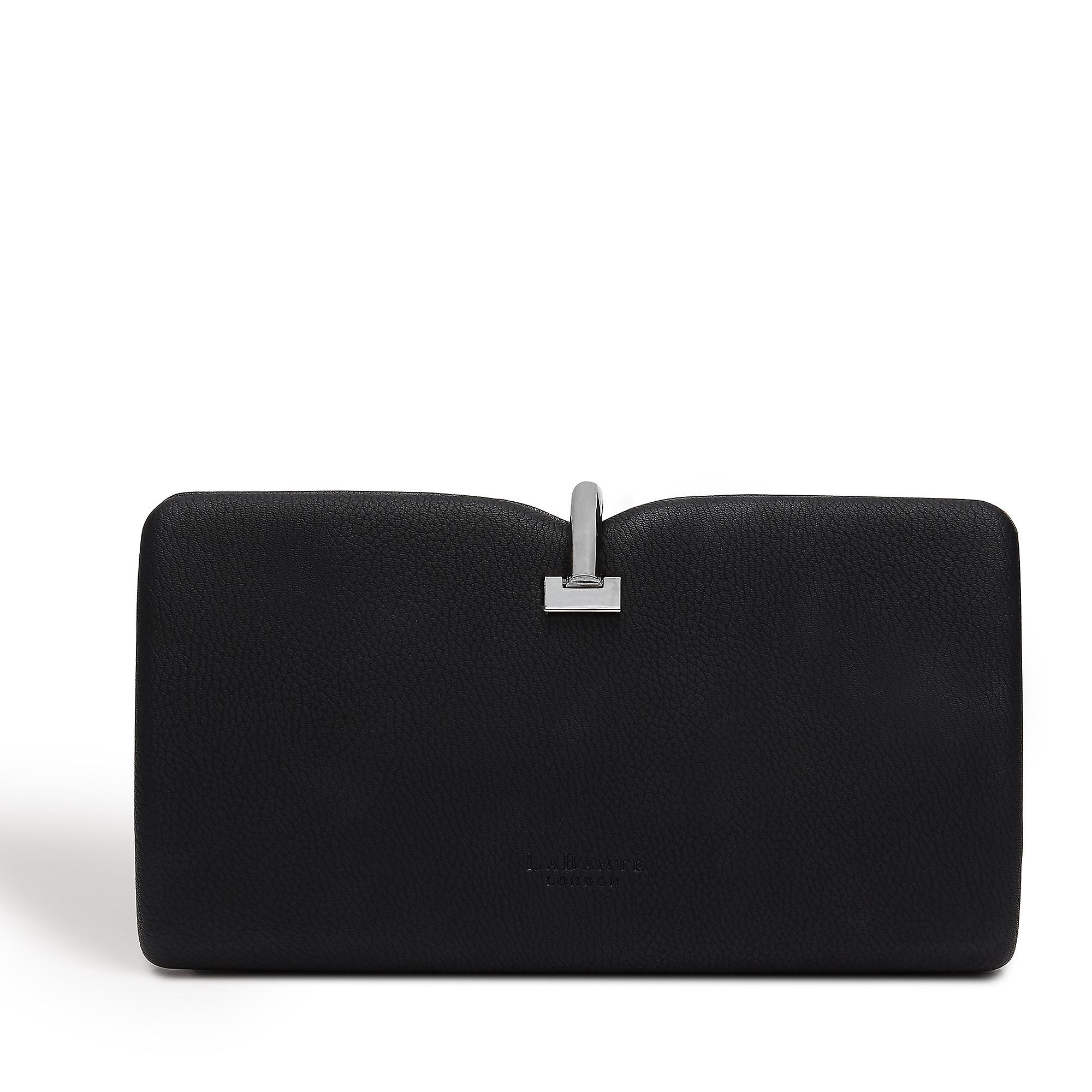 Allegro Vegan Black Clutch Bag