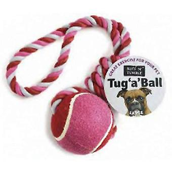 Ruff N Tumble Tug A Ball Dog Toy