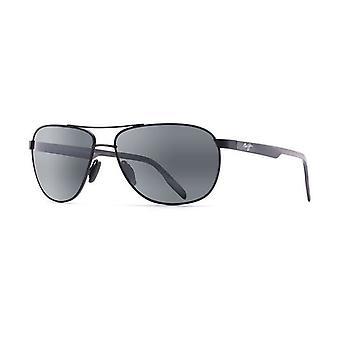 Maui Jim Castles 728 2M Matte Black/Neutral Grey Sunglasses