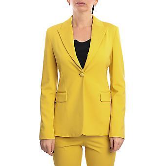 Pinko 1g14tc5872h39 Women's Yellow Viscose Dress