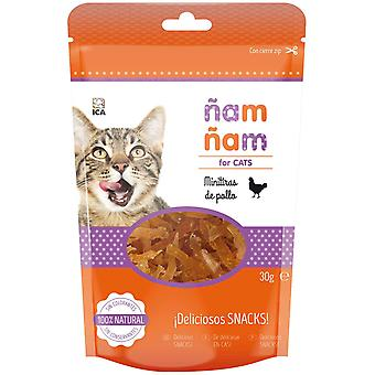 Ica Mini Strips Chicken ?am ?am (Cats , Treats , Biscuits)