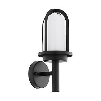 Eglo Paullo - 1 Light Outdoor Wall Light Black IP44 - EG97227