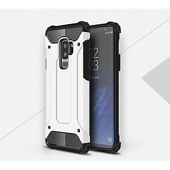Stuff Certified® Samsung Galaxy A8 2018 - Armor Case Cover Cas TPU Case White