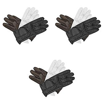 Mark Todd Adults Leather Riding/Show Gloves
