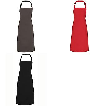 Premier Adults Unisex Adjustable Bib Apron (Pack of 2)