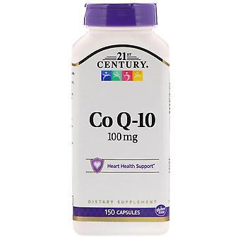 21st century coq10, 100 mg, capsules, 150 ea