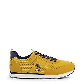 U.S. Polo Assn. Original Men Spring/Summer Sneakers - Yellow Color 39253