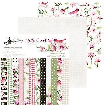 Piatek13 - Paper pad Hello Beautiful 12 P13-206 12x12