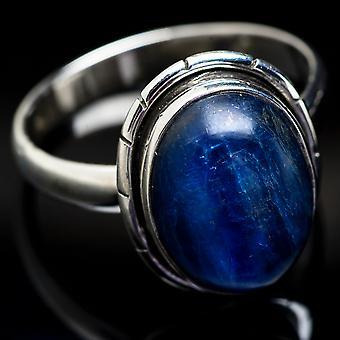 Kyanite Ring Size 14 (925 Sterling Silver)  - Handmade Boho Vintage Jewelry RING3668