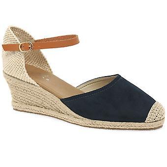 Lunar (GRS) Jessie Womens Wedge Heel Espadrille Sandals