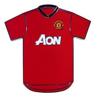 Manchester United Official Football Gift Metal Shirt Fridge Magnet