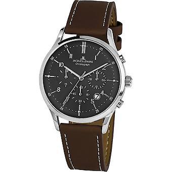 Jacques Lemans - Wristwatch - Men - Retro Classic - - 1-2068M