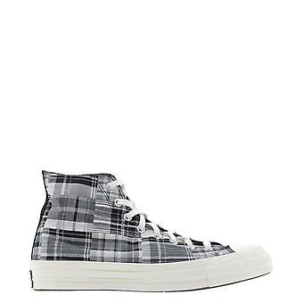 Converse 166850c421 Männer's Grau Baumwolle Hi Top Sneakers