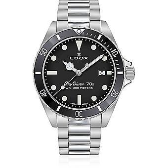 Edox - Wristwatch - Men - SkyDiver - 70s Date - 53017 3NM NI