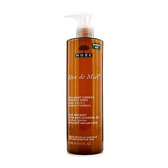 Reve de Miel Face & amp; Krop ultra-rige udrensning gel (tør & forstærker; Følsom hud)-400ml/13.5 oz