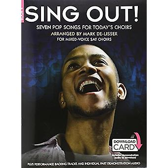 Sing Out] Seven Pop Songs For Today's Choirs - Book 4 (Book/Audio Dow