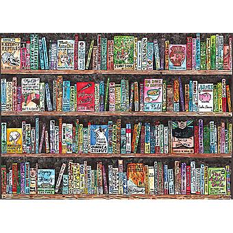 Gibsons Authorful Puns Jigsaw Puzzle (1000 pieces)