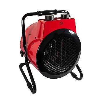 3KW 10, 200BTU espaço aquecedor oficina industrial redonda ventilador elétrico Tilt 2580 kcal