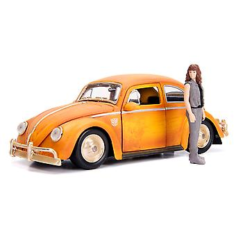 Transformers 1971 VW Beetle Bumblebee 1:24 Hollywood Ride