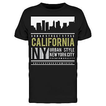 California Ny Urban Tee Men's -Bild von Shutterstock