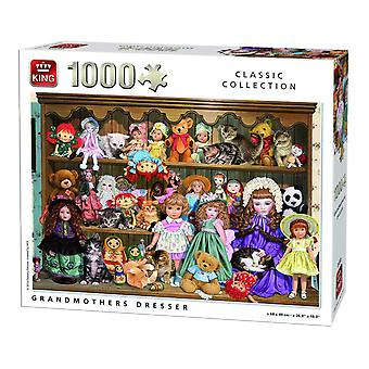 King Grandmother's Dresser Jigsaw Puzzle (1000 Pieces)