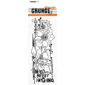 استوديو ضوء ختم Grunge جمع 4 0 no.448 STAMPSL448 210x74mm
