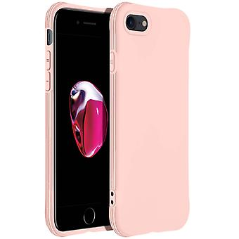 Flexible Silicone Bumper Case for Apple iPhone 7 / 8 / SE 2020 Resistant- Pink