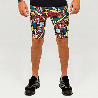 Pariz One - Men's sports pants with graffiti design