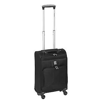 Controleren. IN Paradise Florence Handbagage Trolley S, 4 wielen, 55 cm, 29 L, zwart
