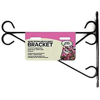 Garden Hanging Basket Bracket Wall Mounted Metal Outdoor Hook Heavy Duty 16/18
