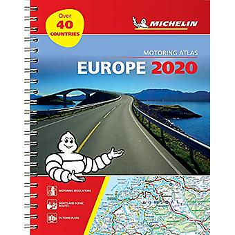 Europe 2020 - Tourist and Motoring Atlas (A4-Spiral) - Tourist & M
