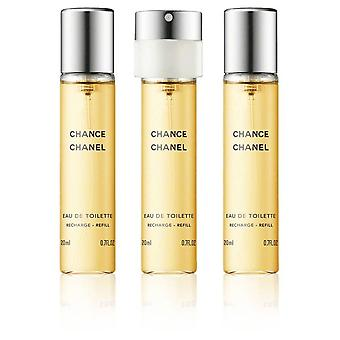Chanel - Chance Giftset 3x Edt Spray Refill 20Ml - Twist and Spray - Eau De Toilette - 60ML