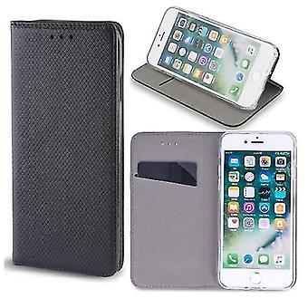 Samsung Galaxy A21s - Smart Magnet Case Mobile Wallet - Sort