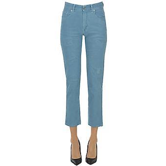 Département Cinq Ezgl534006 Femmes's Light Blue Cotton Jeans