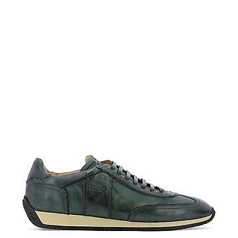Fabi Fu9620verdebottiglia Men's Green Suede Sneakers