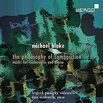 Blake / Gauwerky / Vandewalle - Philosophy of Composition [CD] USA import