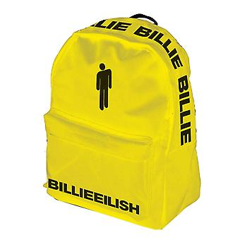 Billie Eilish Backpack Daypack Bag Bad Guy Bloshh Logo new Official Yellow
