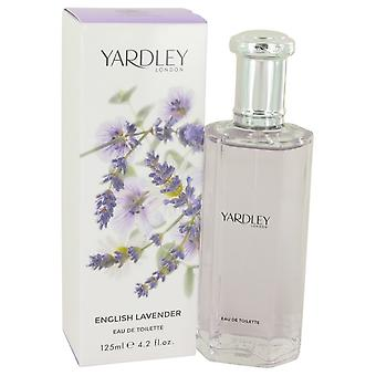 English Lavender by Yardley London Eau De Toilette Spray (Unisex) 4.2 oz / 125 ml (Women)