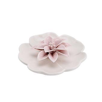 CGB Geschenkartikel Vögel und Botanik rosa Rose Ring Dish