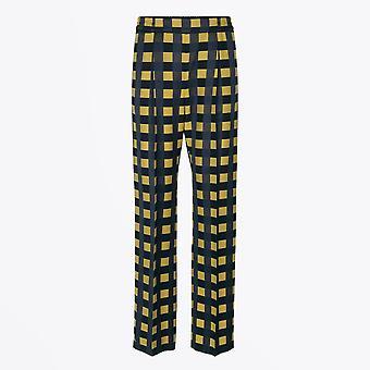 Stine Goya - Jelena Tissé sur mesure Check Pantalon