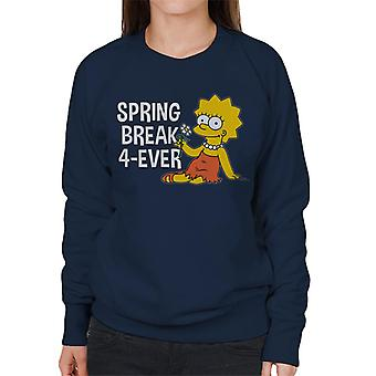 The Simpsons Spring Break 4ever Lisa Women's Sweatshirt