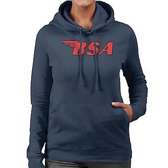 BSA Red Logo Women's Hooded Sweatshirt
