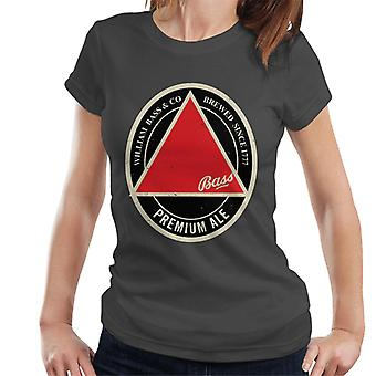 Bass Red Triangle Label Women's T-Shirt